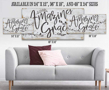 Amazing Grace - Canvas.