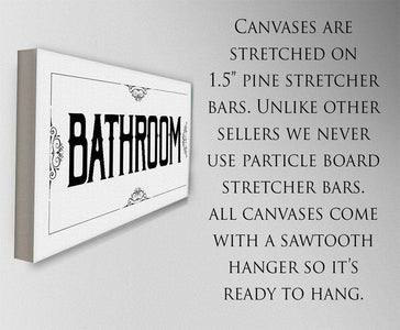 Bathroom - Canvas.