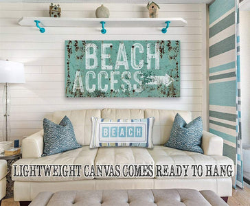 Beach Access - Canvas.