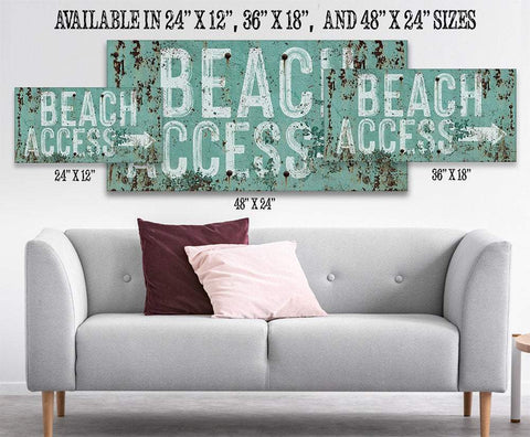 Image of Beach Access - Canvas.