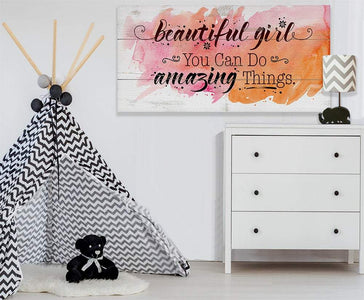 Beautiful Girl - Canvas Lone Star Art