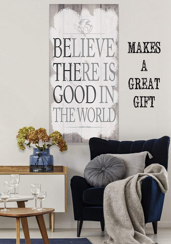 Image of Believe There Is Good - Canvas