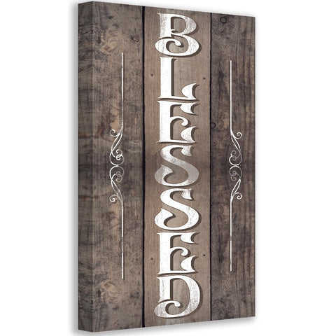 Image of Blessed - Canvas Lone Star Art