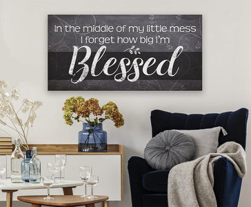 Blessed - Canvas