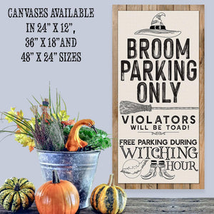 Broom Parking - Canvas