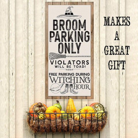 Image of Broom Parking - Canvas