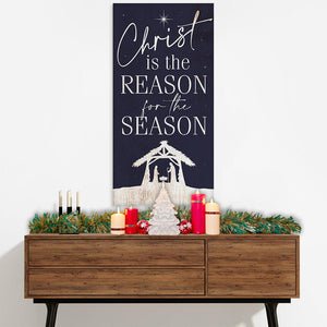Christ Is The Reason - Canvas Lone Star Art