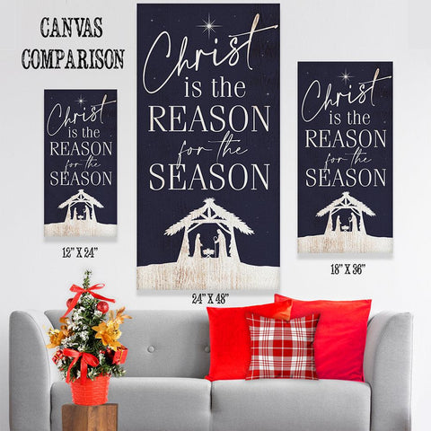 Image of Christ Is The Reason - Canvas Lone Star Art