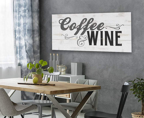 Image of Coffee & Wine - Canvas