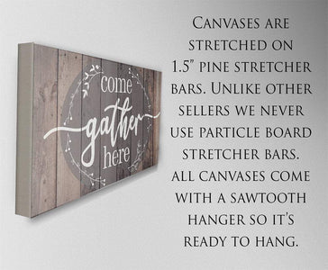 Come Gather Here - Canvas.
