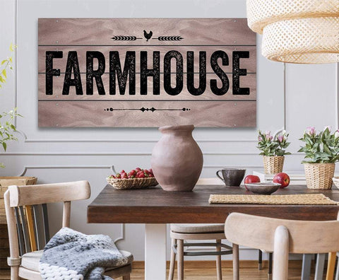 Image of Farmhouse - Canvas.