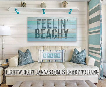 Feelin' Beachy - Canvas