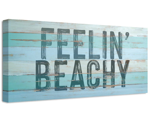 Image of Feelin' Beachy - Canvas Wall Hangings Lone Star Art