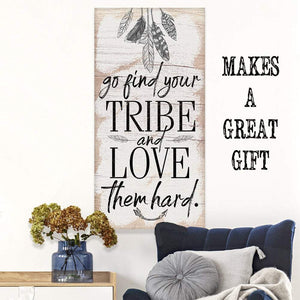 Find Your Tribe - Canvas Lone Star Art