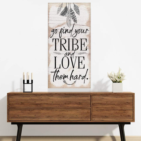 Image of Find Your Tribe - Canvas Lone Star Art