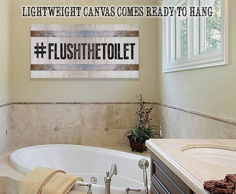 FlushTheToilet - Canvas.