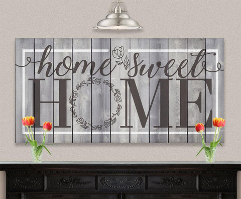 Image of Home Sweet Home - Canvas