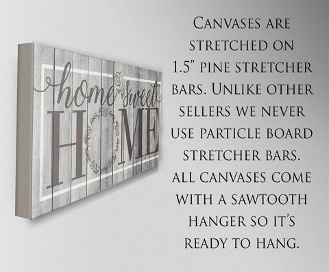 Image of Home Sweet Home - Canvas.