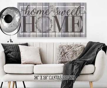 Home Sweet Home - Canvas.