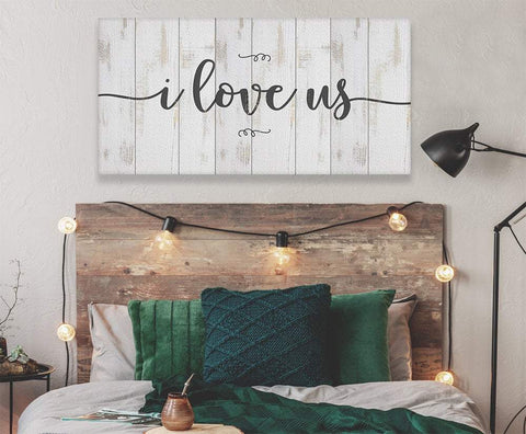 Image of I Love Us - Canvas.