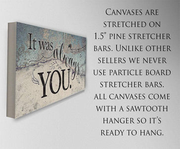 It Was Always You - Canvas.
