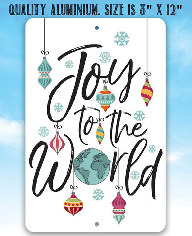 Image of Joy To The World - Metal Sign Metal Sign Lone Star Art