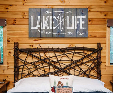 Lake Life - Canvas Lone Star Art