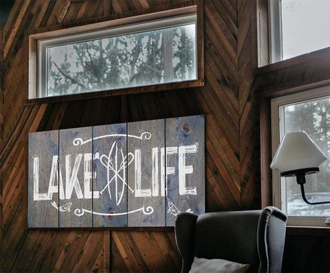 Image of Lake Life - Canvas Lone Star Art