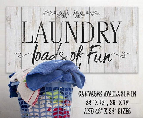 Image of Laundry Loads Of Fun - Canvas