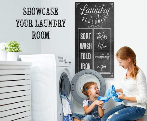 Image of Laundry Schedule - Canvas.