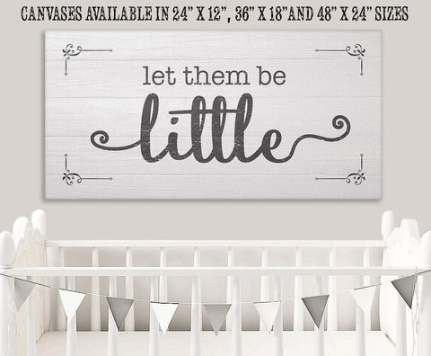 Image of Let Them Be Little - Canvas.