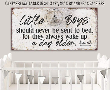 Little Boys - Canvas.