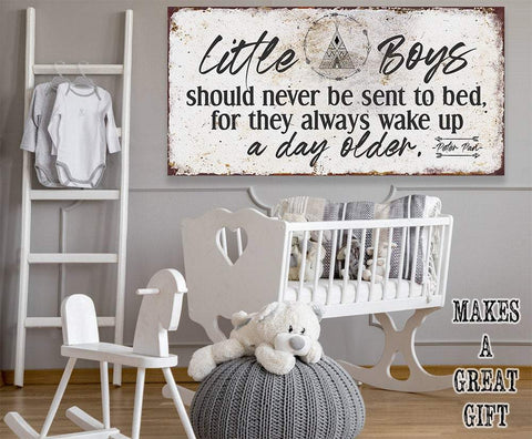 Image of Little Boys - Canvas.