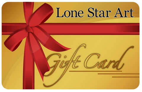 Lone Star Art Gift Card Lone Star Art
