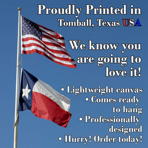 Image of Merry Christmas - Canvas Lone Star Art