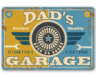 Dad's Garage - Metal Sign.
