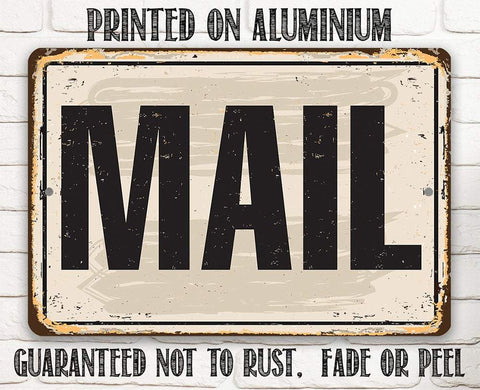 Mail - Metal Sign.