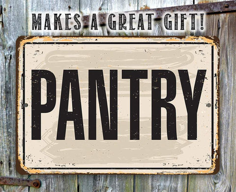 Image of Pantry - Metal Sign.