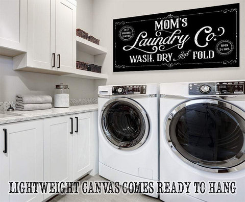 Image of Mom's Laundry Co - Canvas.