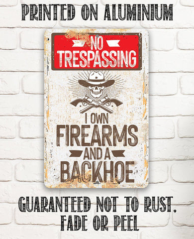 Image of No Trespassing - Metal Sign.