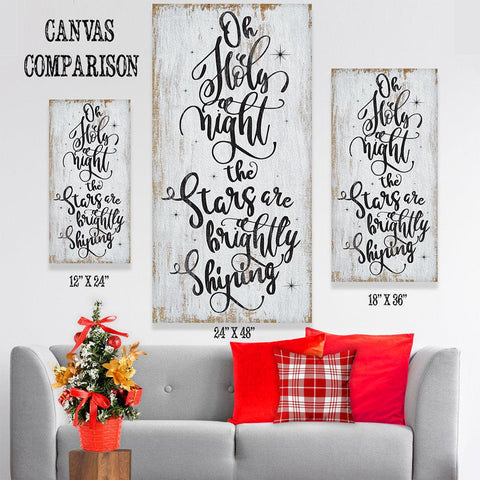 Image of Oh Holy Night - Canvas