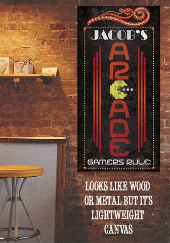 Image of Personalized - Arcade - Canvas