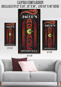 Personalized - Arcade - Canvas.