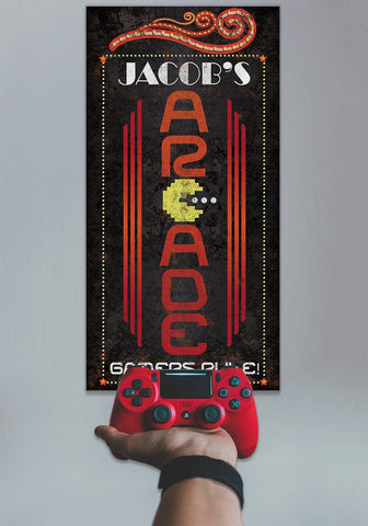 Image of Personalized - Arcade - Canvas.