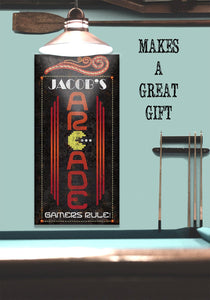 Personalized - Arcade - Canvas