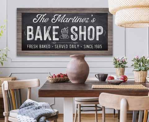Image of Personalized - Bake Shop - Canvas