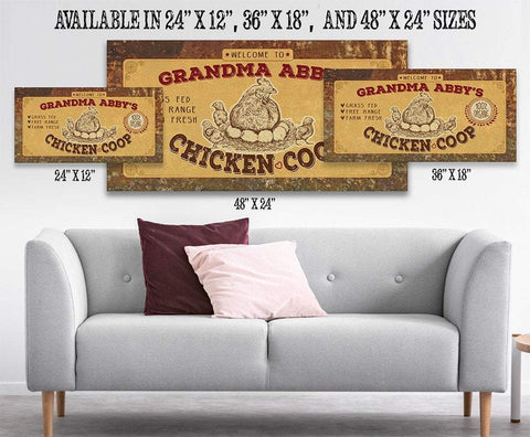 Image of Personalized - Chicken Coop - Canvas