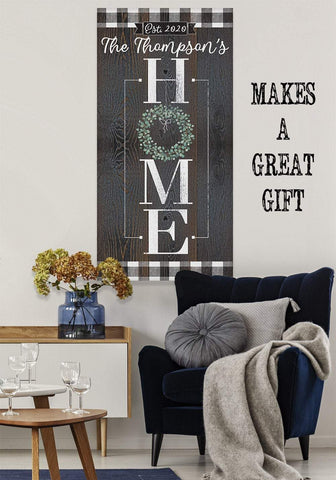 Image of Personalized - Home - Canvas.