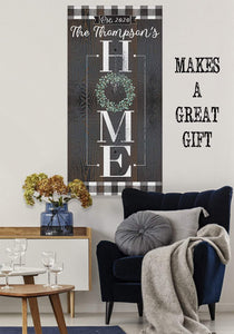 Personalized - Home - Canvas
