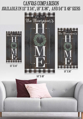 Image of Personalized - Home - Canvas